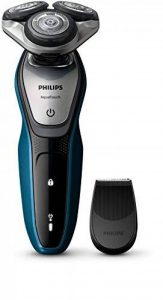 Philips AquaTouch S5420/04 Rotation Trimmer Blue, Grey Men's Shaver – Men's Shavers (AC/Battery, Lithium-ION (Li-ION), Rotation, Blue, Grey, Ergonomic, SH50) de la marque Philips image 0 produit